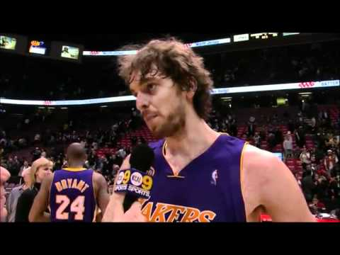 Pau Gasol's 1st Game As a Laker