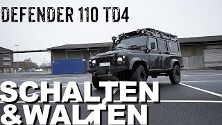 Defender 110 TD4 mit optimierter Elektrik  I 4x4 Passion #108