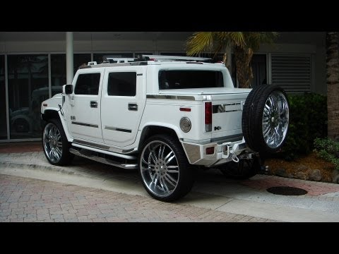 Hummer H2 Sut On 30 Quot Giovanna Wheels Youtube