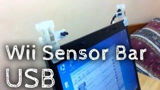 Cómo hacer una Barra Sensora USB para Wii