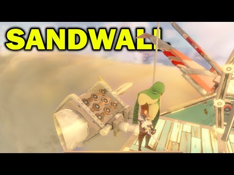 Worlds Adrift - HOW TO CROSS THE SANDWALL!! Worlds Adrift Closed Beta Gameplay! Worlds Adrift