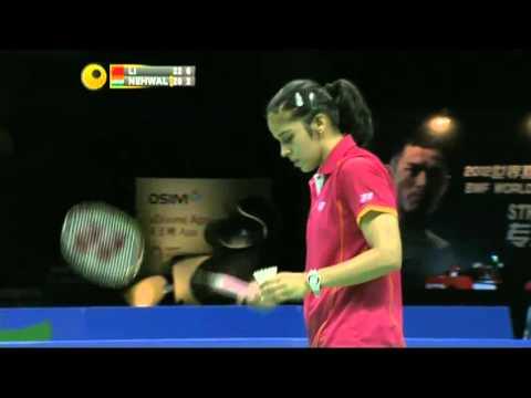 SF - WS - Li Xuerui vs Saina Nehwal - 2012 WSS Finals