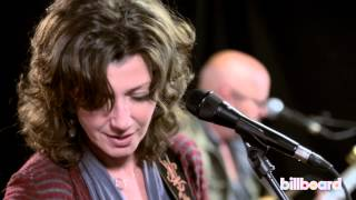 Amy Grant Performs Our Time Is Now at Billboard Studios