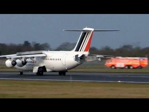 Air France EMERGENCY LANDING Dublin Airport