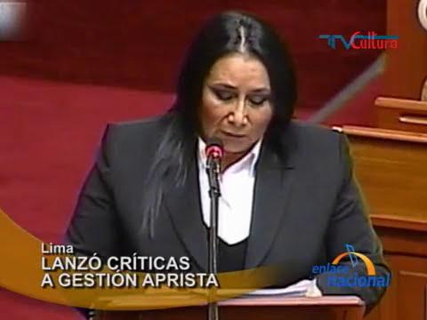 Ministra de la Mujer respondió al Congreso por caso de muerte de tres niños en Cajamarca