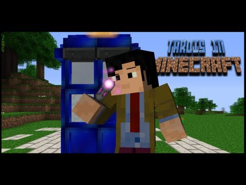 Working TARDIS In Minecraft ! (Download Available)