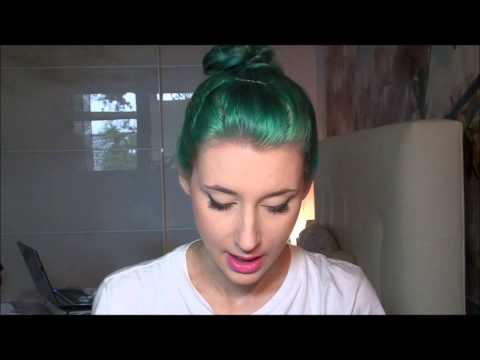 Wie ich zu blauen Haaren kam! (Färben mit Directions & Headshot)