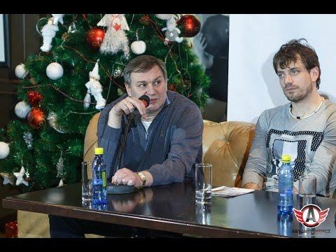 """Новогоднее поздравление - Олег Гросс, генеральный менеджер ХК """"Автомобилист"""""""