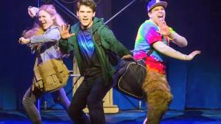 "George Salazar on ""The Lightning Thief: The Percy Jackson Musical"""