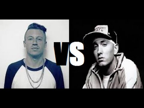 Macklemore Vs Eminem - Speed Rap Battle video