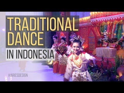 Traditional Dance In Indonesia