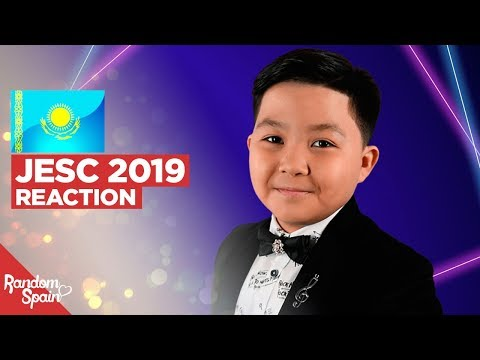 REACTION Yerzhan Maxim - Armanyńnan Qalma | Kazakhstan Junior Eurovision 2019