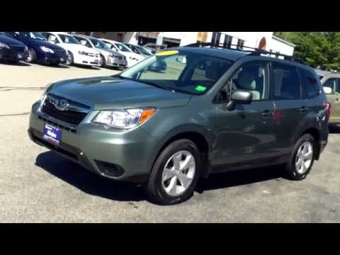 Best Priced Used 2014 Subaru Forester #J7693A Southern Maine Motors Car Dealers in Me