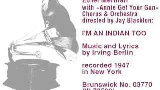 Watch Irving Berlin Im An Indian Too video