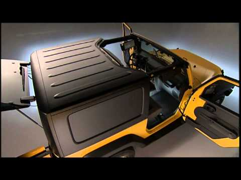 2013 jeep wrangler freedom top modular hard top removal how to save money and do it yourself. Black Bedroom Furniture Sets. Home Design Ideas