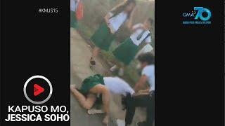 Kapuso Mo, Jessica Soho: Rambulan sa eskwelahan, caught on cam!