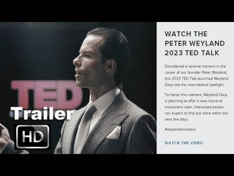 TRAILER: 'Prometheus' Guy Pearce Weyland TED Presentation Teaser: ENTV