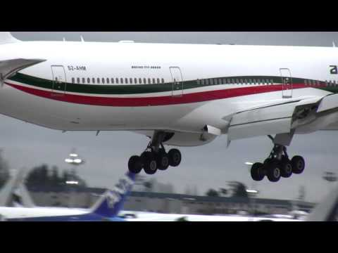 Biman 777 Landing with RAT deployed