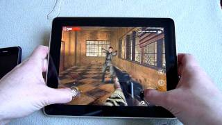 iPad - games (CoD Zombies, Asphalt 5, Angry Birds)