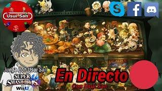 Super Smash Bros Wii U Multiplayer con Suscriptores y Visitantes EN DIRECTO Parte # 016