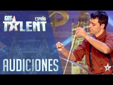 Un instrumento insólito sorprende a los Jueces | Audiciones 1 | Got Talent España 2016