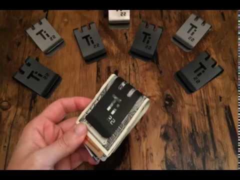Quick T-60™ Titanium Money Clip Demo
