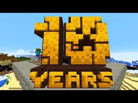 10 Jahre Minecraft Geburtstags Map! Minecraft Maps!
