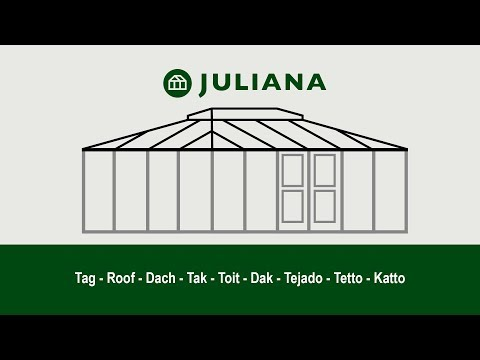 Juliana Grand Oase - Samling og montage af tag
