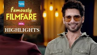 Shahid Kapoor talks about life after Marriage & Kids | Shahid Kapoor Interview |Famously Filmfare