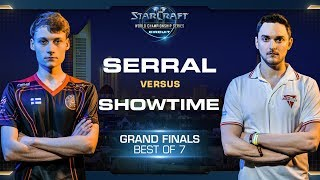 ShoWTimE vs Serral PvZ - Grand Final - WCS Leipzig 2018 - StarCraft II