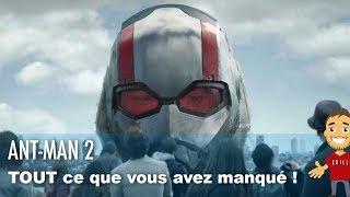 Ant-Man 2 : TOUT ce que vous avez manqué dans le trailer !