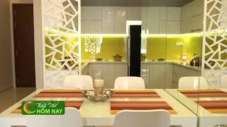 Nhà đẹp, vận dụng màu sắc trong thiết kế căn hộ - Thành Phố Hôm Nay [HTV9 – 28.07.2014]