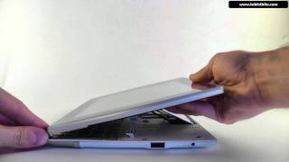 Asus EEE Pad Slider SL101- just a quick look at the exterior