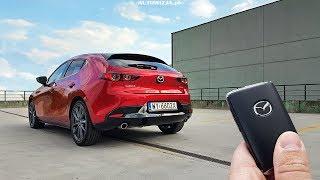 Mazda 3 SKYACTIV-G 2.0 122 TEST POV Drive & Walkaround