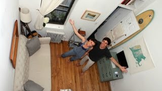 MEGACITIES: 200 SQUARE FEET AGENDA 21 MICRO APARTMENTS ARE ONLY $2000 PER MONTH IN NEW YORK