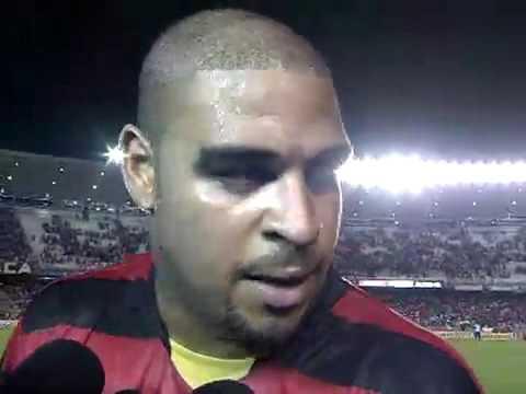 Entrevista Adriano Fim de Jogo Flamengo 2 x 1 Atletico Pr