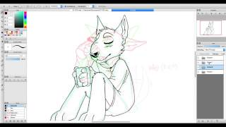 Download animating timelapse {commission} easy listening music n chill drawing session 3Gp Mp4
