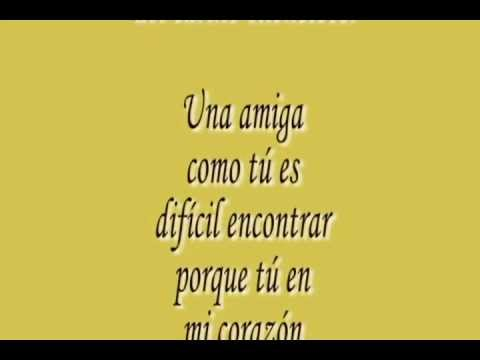 Poemas de amistad - YouTube