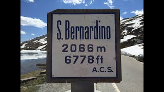 In Moto... al Passo San Bernardino - versante nord (S.Bernardino Pass - north side) HD