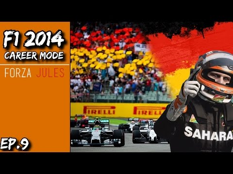 F1 2014 Career Mode | Force India | The Ultimate Driver S3 E10 - German GP
