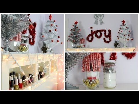 Diy Holiday Room Decorations     Easy &amp  Cheap