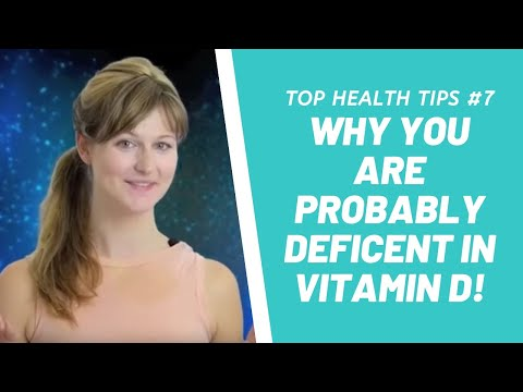 Why You Are Probably Deficent In Vitamin D!