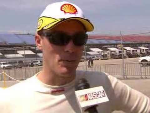 Kevin Harvick Discusses Talladega Video