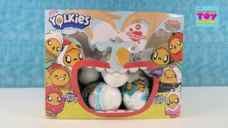 Yolkies Collectible Figure Edible Slime Series 1 Unboxing Review | PSToyReviews