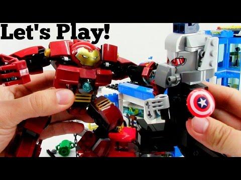 LEGO Iron Man vs Captain America - Let's Play!