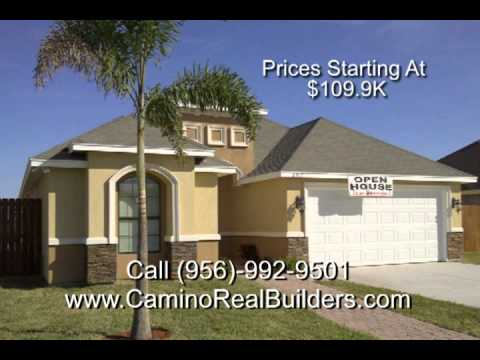 New Homes In Mcallen Texas By Camino Real Youtube: house plans mcallen tx
