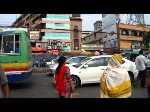 Bangladesh (dhaka) Streets, Hd video