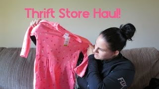 REPOST, Due to ending being cut off. Thrift Store Haul | Our Lives, Our Reasons, Our Sanity