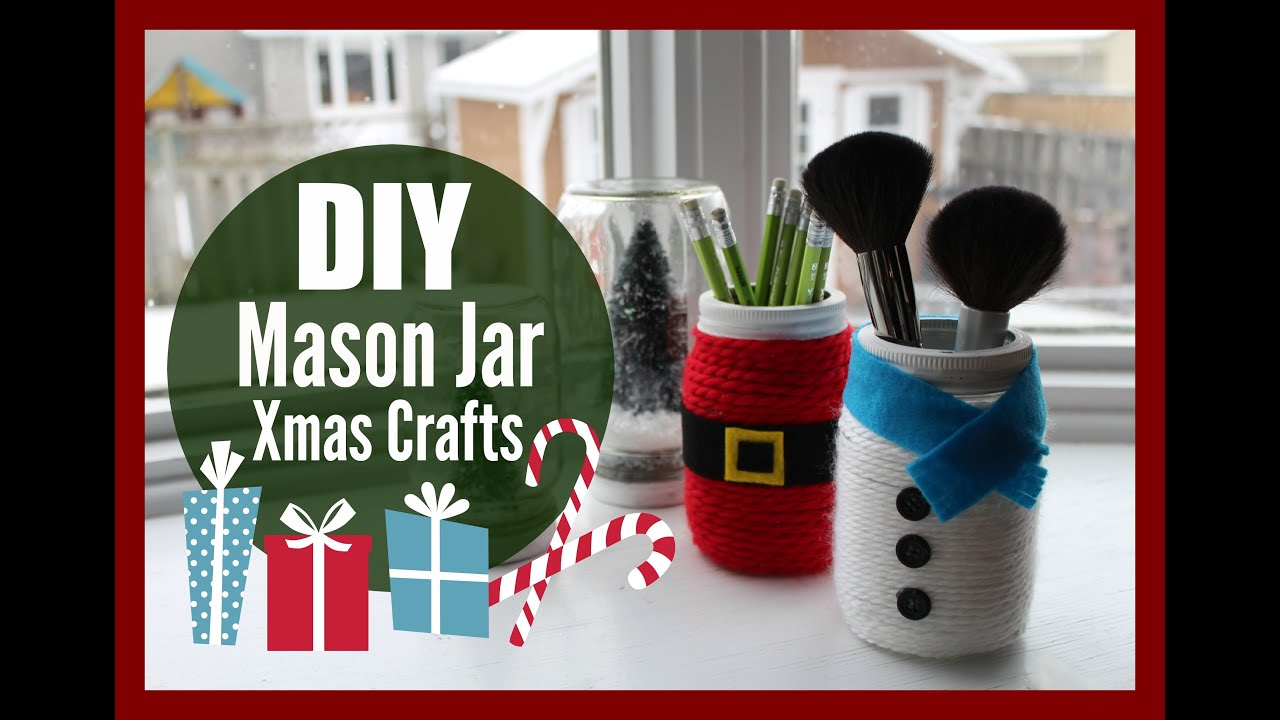 Diy Mason Jar Christmas Crafts With Healthnut Nutrition