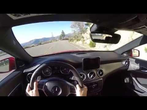 2014 Mercedes-Benz CLA45 AMG - WR TV POV Canyon Drive